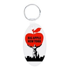 Big Apple, New York Keychains