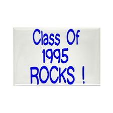 1995 Blue Rectangle Magnet