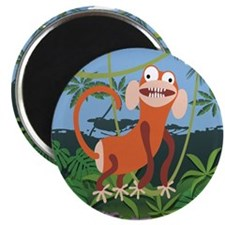 Loony Monkey Art Magnet