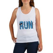 Grunge RUN Women's Tank Top