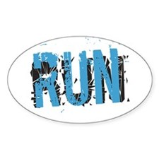 Grunge RUN Decal