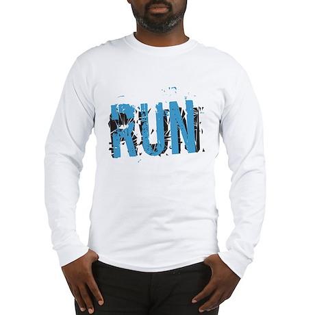 Grunge RUN Long Sleeve T-Shirt