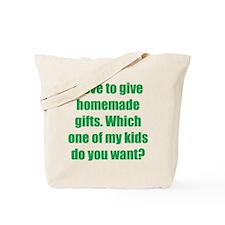 Kid Give-a-Way Tote Bag