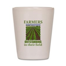 Outstanding Farmers Shot Glass