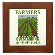 Outstanding Farmers Framed Tile