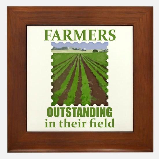 Outstanding Farmers Framed Tile