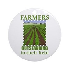 Outstanding Farmers Ornament (Round)