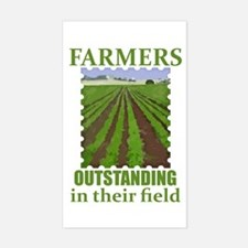 Outstanding Farmers Sticker (Rectangle)