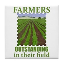 Outstanding Farmers Tile Coaster