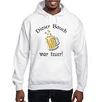 Funny German Drinking Hooded Sweatshirt