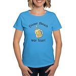 Funny German Drinking Women's Dark T-Shirt