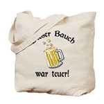 Funny German Drinking Tote Bag