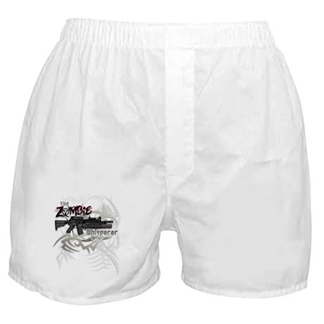 Zombie Whisperer Hunter M16 Boxer Shorts