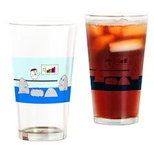 Corporate Nightmare Drinking Glass