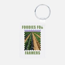 Foodies for Farmers Keychains