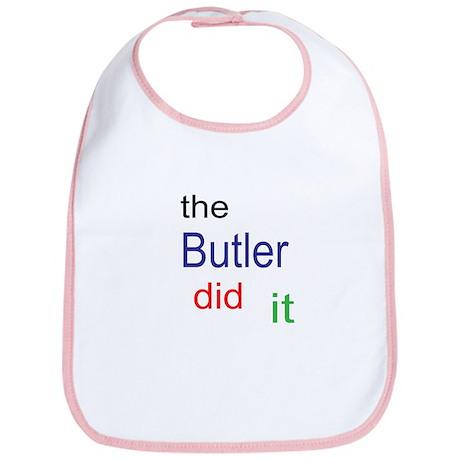 The Butler Did It Bib