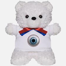 The Eye: Blue Teddy Bear