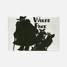 Nero Wolfe Rectangle Magnet
