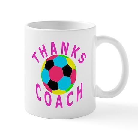 Soccer Coach Thank You Mug