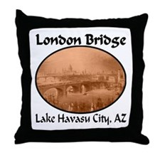 London Bridge, Lake Havasu City, AZ Throw Pillow
