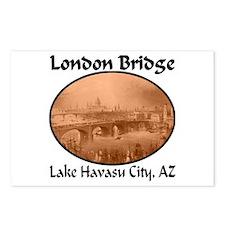 London Bridge, Lake Havasu City, AZ Postcards (Pac