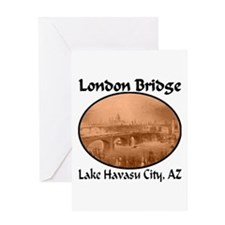 London Bridge, Lake Havasu City, AZ Greeting Card