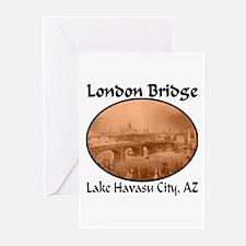London Bridge, Lake Havasu City, AZ Greeting Cards