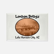 London Bridge, Lake Havasu City, AZ Rectangle Magn