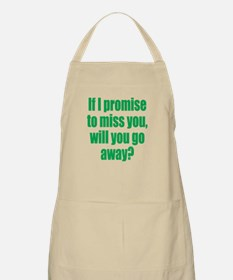 Promise to Miss You Apron