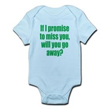 Promise to Miss You Infant Bodysuit