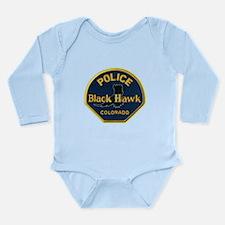 Black Hawk Police Long Sleeve Infant Bodysuit