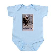 Gee, I Wish I Were a Man Infant Bodysuit