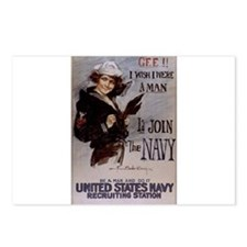 Gee, I Wish I Were a Man Postcards (Package of 8)