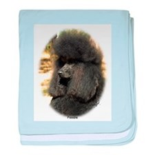Poodle Standard 9F5D-02 baby blanket