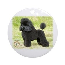 Poodle Toy 8T006D-08 Ornament (Round)
