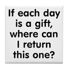 Return this Gift Tile Coaster