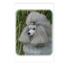 Poodle Toy 9F28D-09 Postcards (Package of 8)