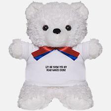 Rear Naked Choke Teddy Bear