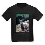 Mountain Sheep Kids Dark T-Shirt