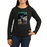 Mountain Sheep Women's Long Sleeve Dark T-Shirt