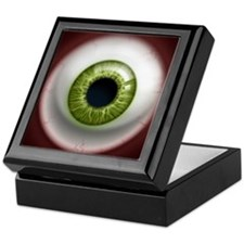 The Eye: Green Keepsake Box