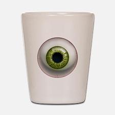 The Eye: Green Shot Glass