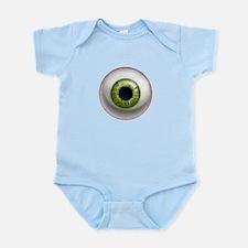 The Eye: Green Infant Bodysuit