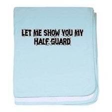 Half Guard baby blanket