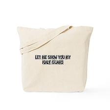 Half Guard Tote Bag
