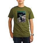 Mountain Sheep Organic Men's T-Shirt (dark)