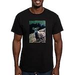 Mountain Sheep Men's Fitted T-Shirt (dark)