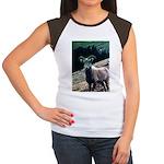 Mountain Sheep Women's Cap Sleeve T-Shirt