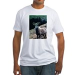Mountain Sheep Fitted T-Shirt