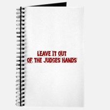 Judges Hands Journal